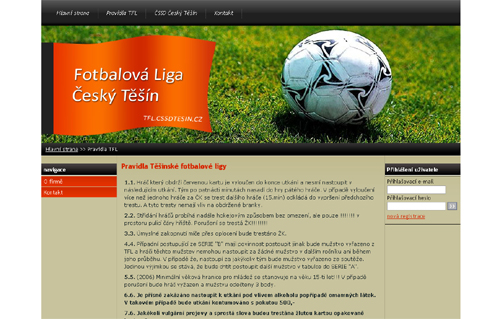 Těšínská Fotbalová Liga