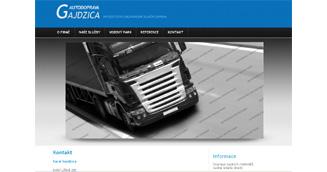 Gajdzica.cz - Mezinárodní silniční nákladní doprava.