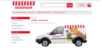 Minimart - internetový obchod