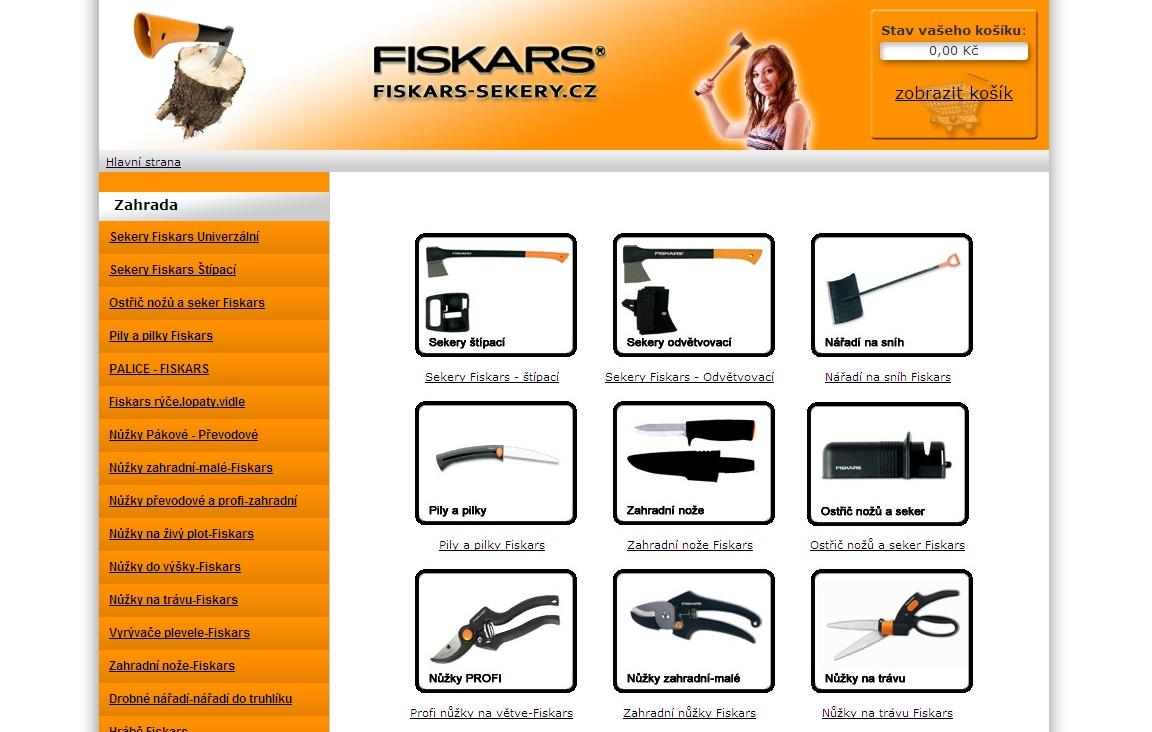 V roce 1649 vznikla kovárna ve Finské osadě Fiskars.Od této doby uplynulo téměř 360 let úspěšného vývoje,jedné z nejstarších firem našeho starého kontinentu.Fiskars výrobky znají lidé na celém světě v mnoha oborech,které se dotýkají většinou přímo každého z nás.