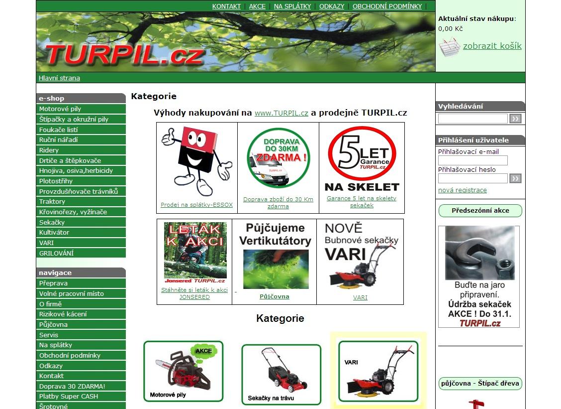 Naše rodinná firma byla založena v roce 1992. Máme už 14 let zkušeností s prodejem a servisem zahradní a lesní techniky renomovaných světových výrobců pro naše zákazníky na severní Moravě.