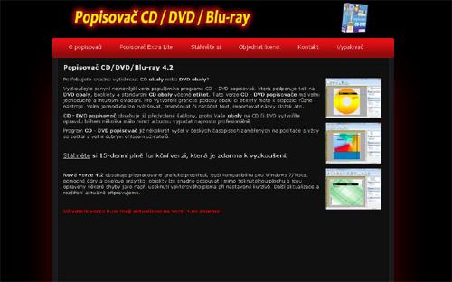 Vyzkoušejte si nyní nejnovější verzi populárního programu CD - DVD popisovač, která podporuje tisk na DVD obaly, booklety a standardní CD obaly včetně etiket. Tato verze CD - DVD popisovače má velmi jednoduché a intuitivní ovládání. Pro vytvoření grafické podoby obalu či etikety máte k dispozici různé nástroje. Velmi jednoduše lze zvětšovat, zmenšovat či natáčet text, importovat názvy složek atp.